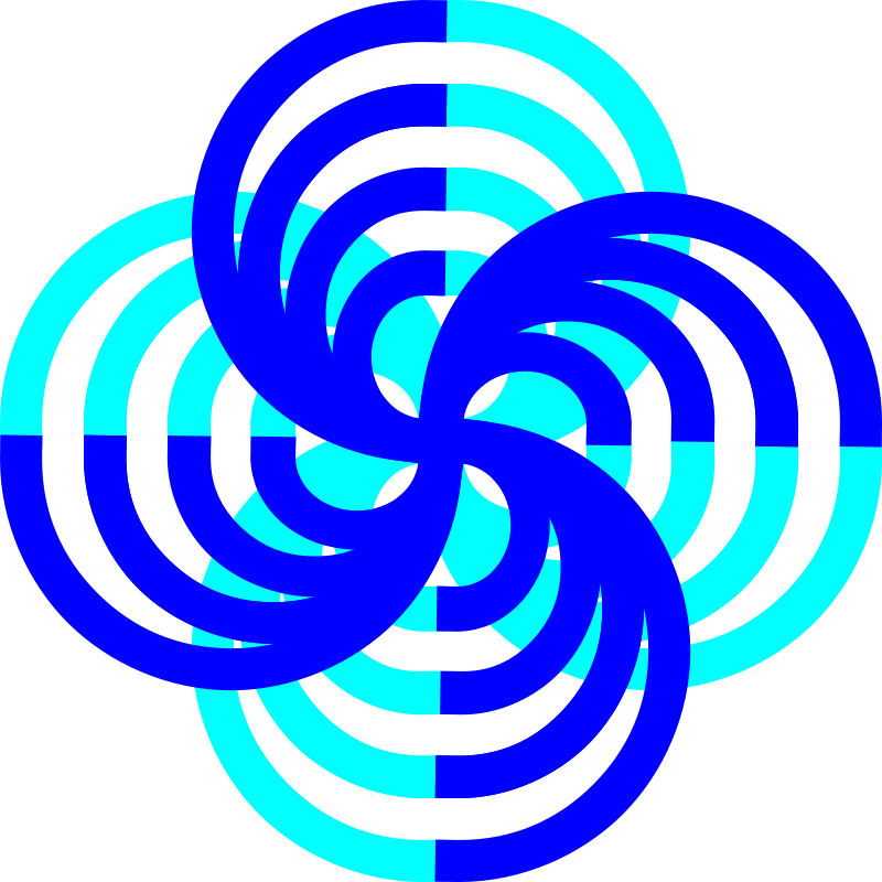 Infinite Clover by algotruneman - Icon suggestive of both infinity and four-eaf clover