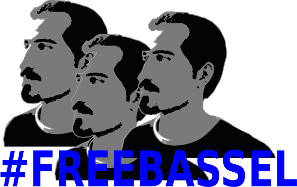 FreeBassel 3 by jykhui - Is time we get Bassel Free with Sunlight, I hope Bassel can see with us same blue sky and breathe freedom air, with his lover and family together. like us do we like the things. make it real action. #FREEBASSEL