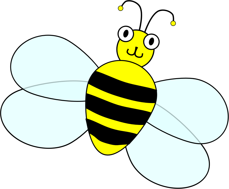 Spelling bee contest mascot by ecelis - Cartoonish bee, made for a contest's mascot