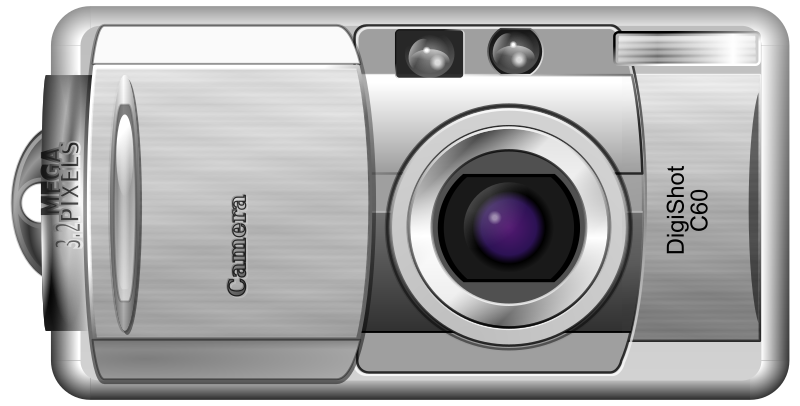 Digital Camera by AJ - A photorealistic point and shoot camera.