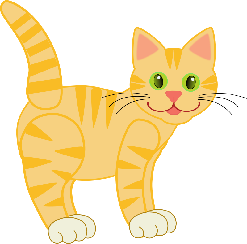 Yellow Tiger Cat(four legs) by version2