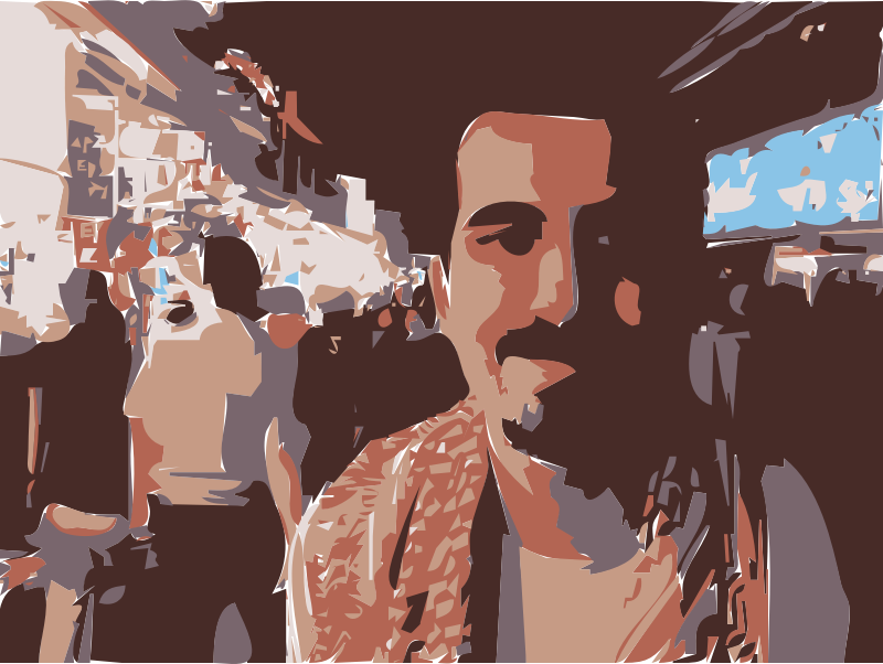 FREEBASSEL ORIGINAL by rejon - This is an original picture, and I have a stack of them, of our dear FREEBASSEL l