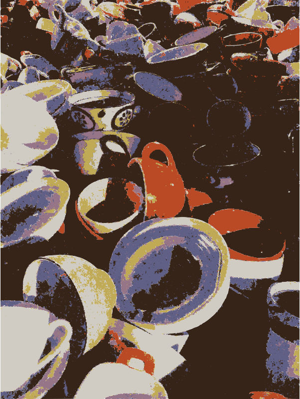 A pile of cups by rejon