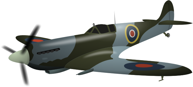 Supermarine Spitfire by rematuche - a classic