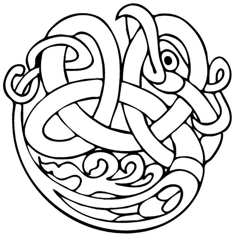 Celtic ornament by boobaloo