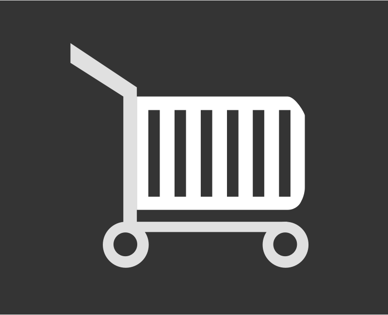 Shopping Cart by petersirka - A shopping cart graphic