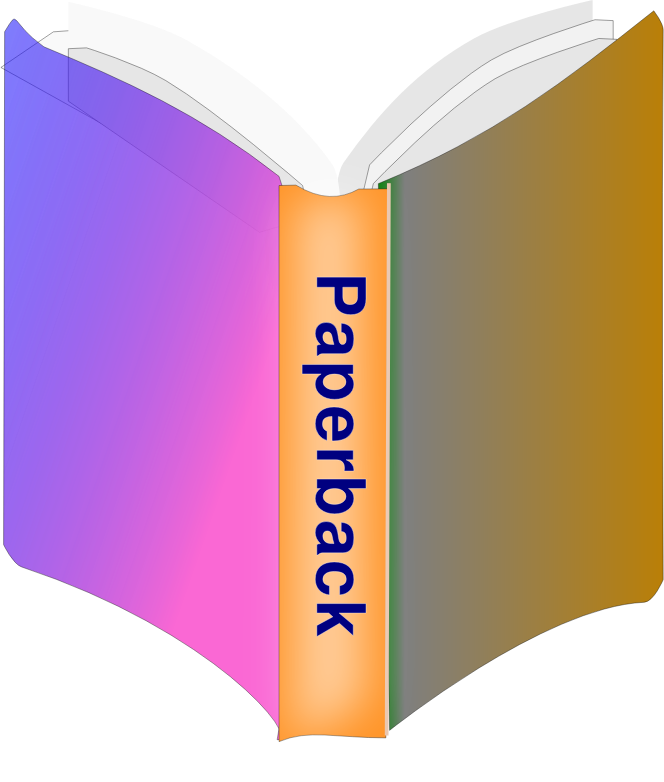 Paperback Book Icon by algotruneman - Paperback book with non-sharp corners