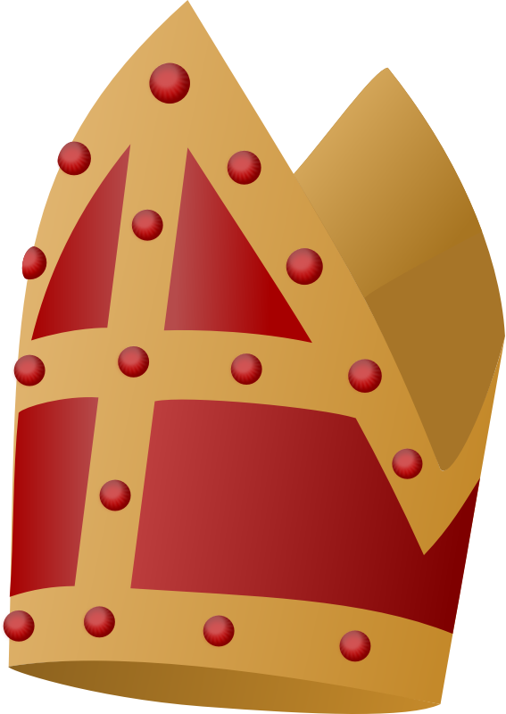 Mijter by rdevries - A part of the dress of the children's friend Sinterklaas.