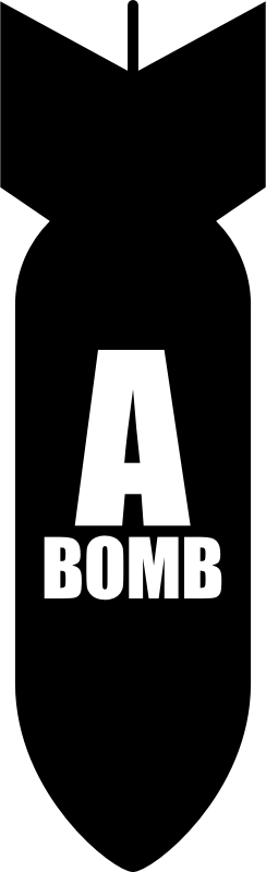 A-bomb by Rones by rones - An a-bomb