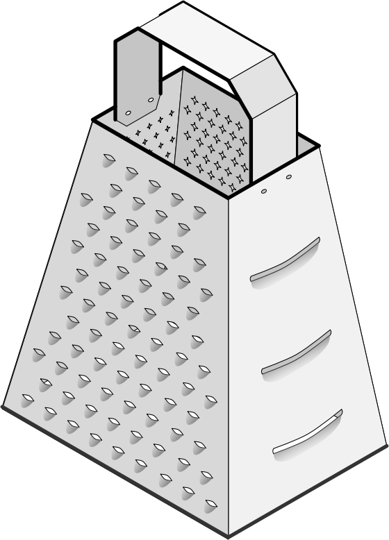 grater by jarda - A cheese grater