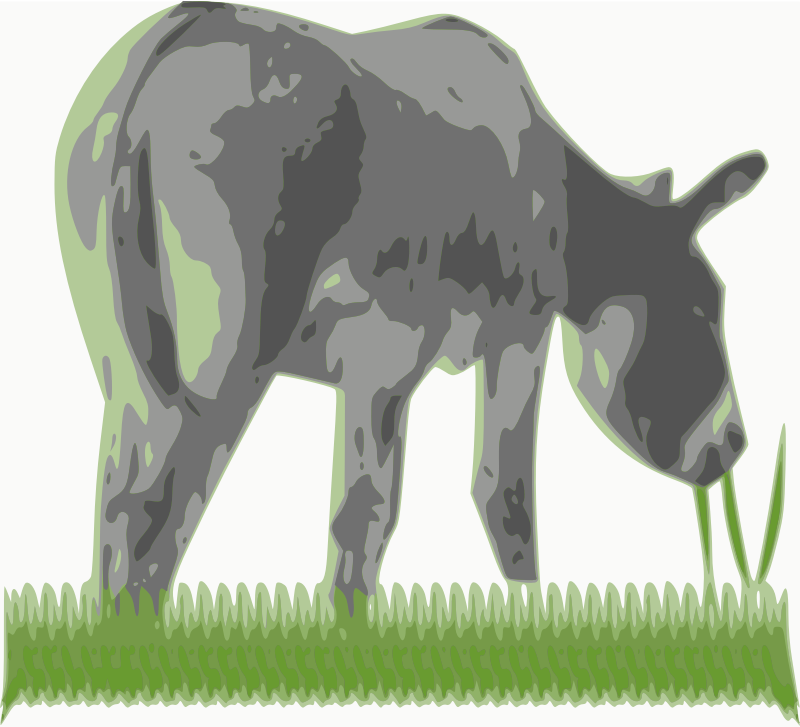 My Ass in the grass by chatard - from a vectorized photo. title: my ass in the grass. Translate to french: first possibility: mon âne dans l'herbe. second: mon cul dans l'herbe.