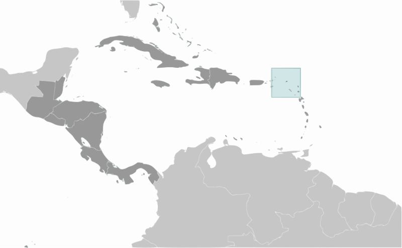 Anguilla location label by wpclipart - Country map of Anguilla location