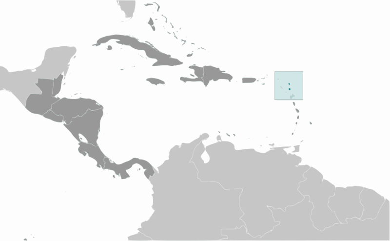 Antigue and Barbuda location by wpclipart - Country map of Antigue and Barbuda location