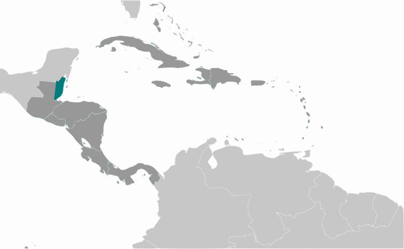 Belize location by wpclipart - Map of Belize location