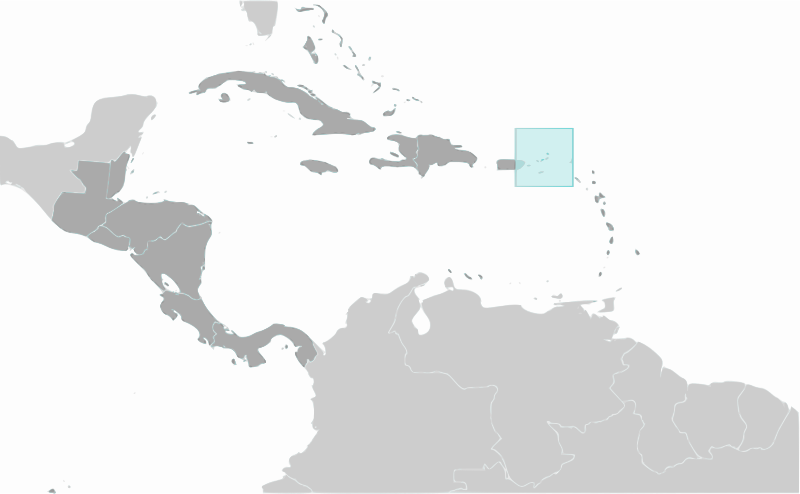 British Virgin Islands location by wpclipart