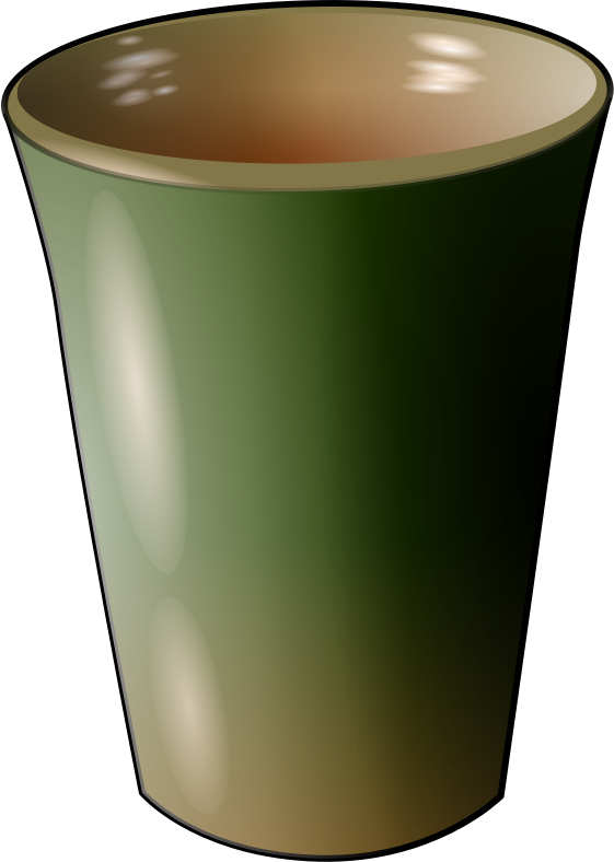 cup by pierro72 - A shaded cup that looks ceramic in  material