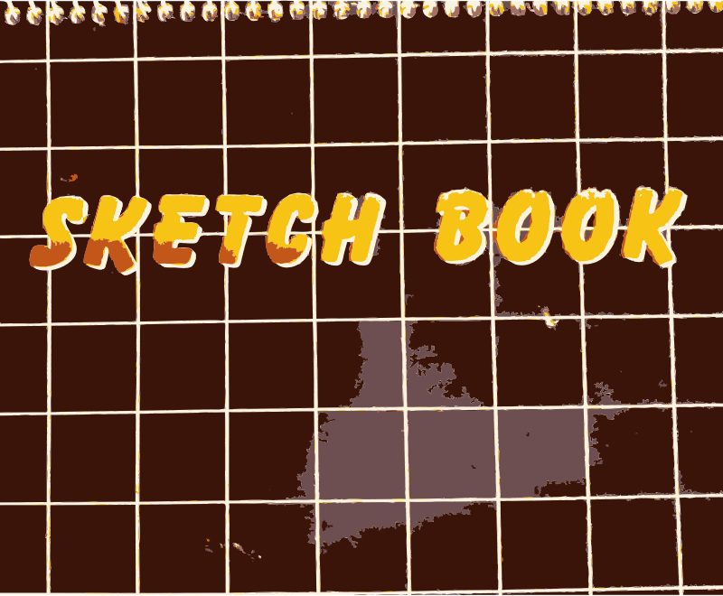 Sketch Book by rejon - Don't ever forget yours at home!