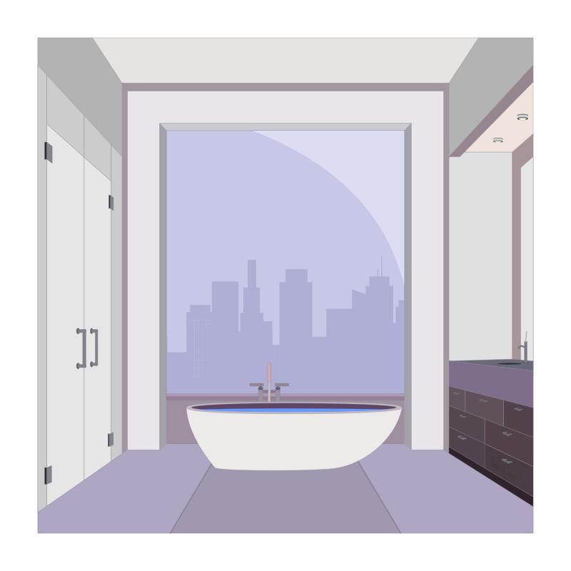 Clipart apartment bathroom - Image of bathroom ...
