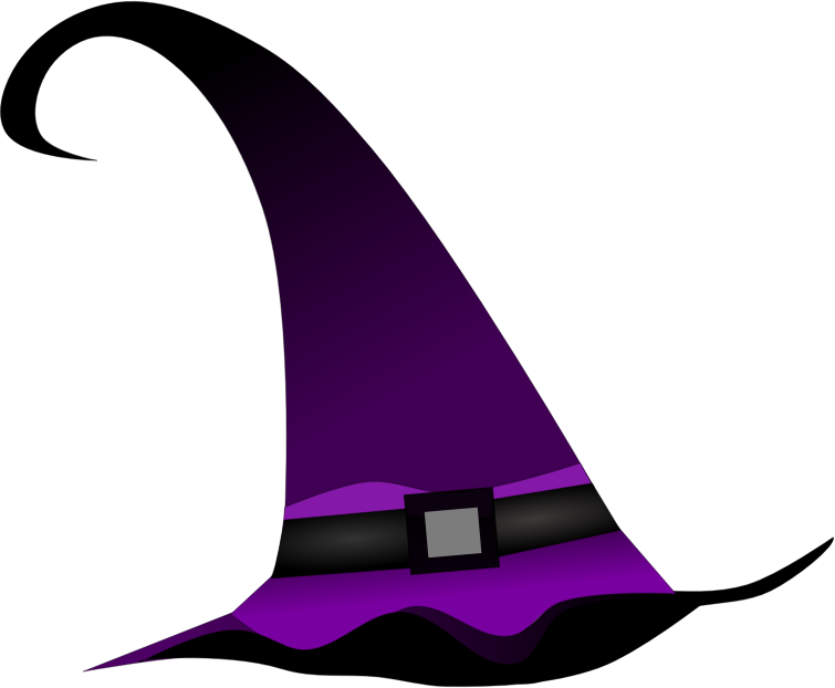 Purple witch hat by Pippi2011 - Purple witch hat