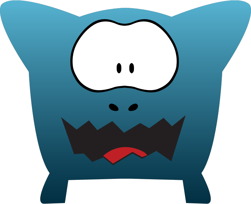 Monsters Cartoon Design by vectorsme - Monsters Cartoon Design by freevectors.me