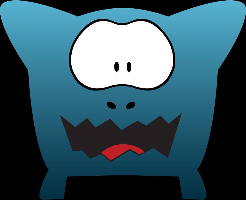 Clipart - Monsters Cartoon Design