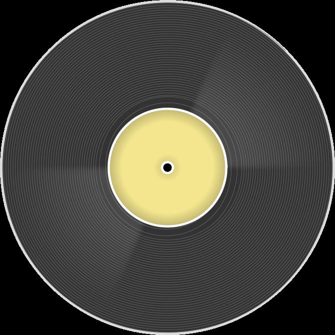 Clipart vinyl disc