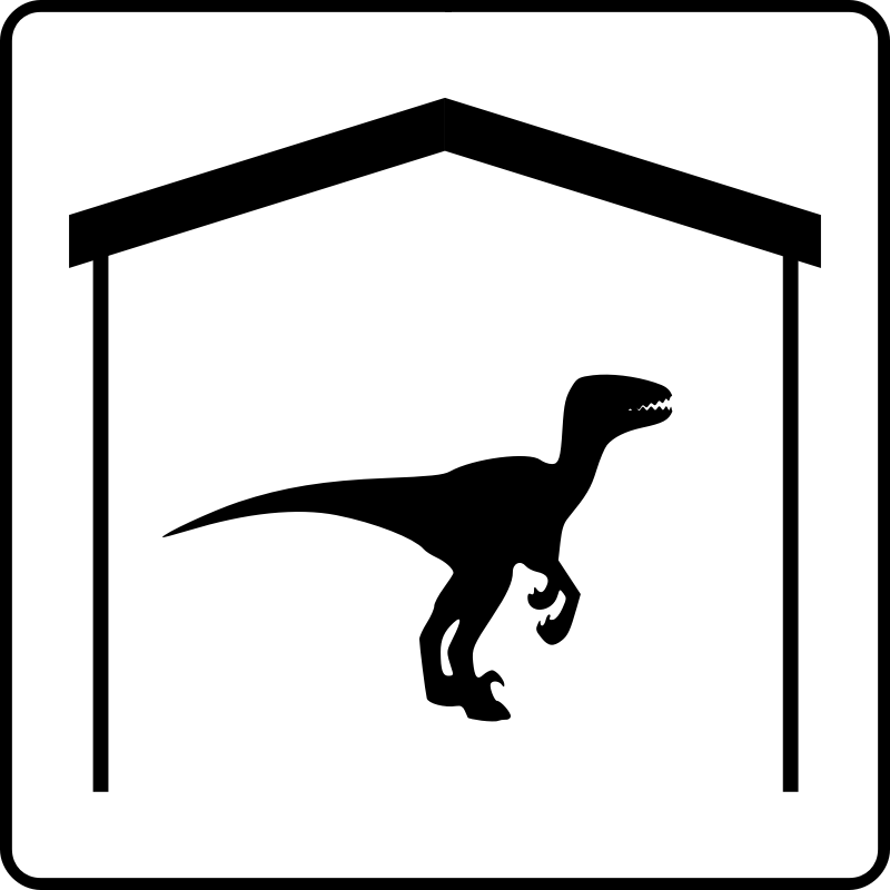 Hotel Icon Has Dinosaur In Room by gringer