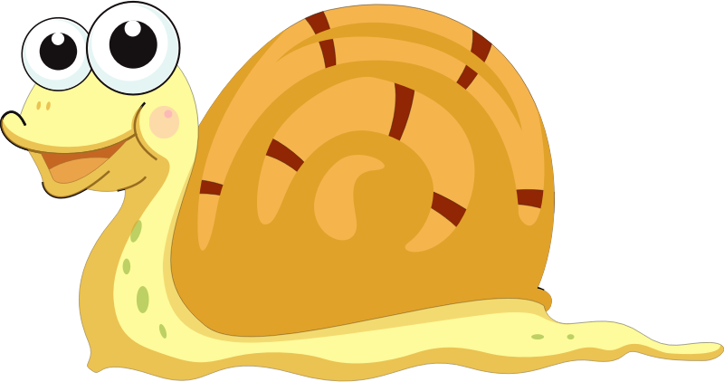 Cartoon Snail Art by vectorsme
