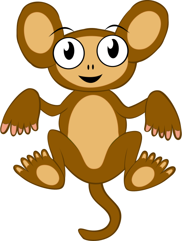 Monkey by qubodup - Just a cute monkey based on Maw's work but also created with strong help for colors and shapes of the following works: