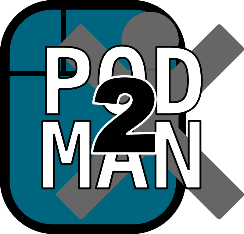 Pod2man posticon by Todd Partridge - Gen2ly
