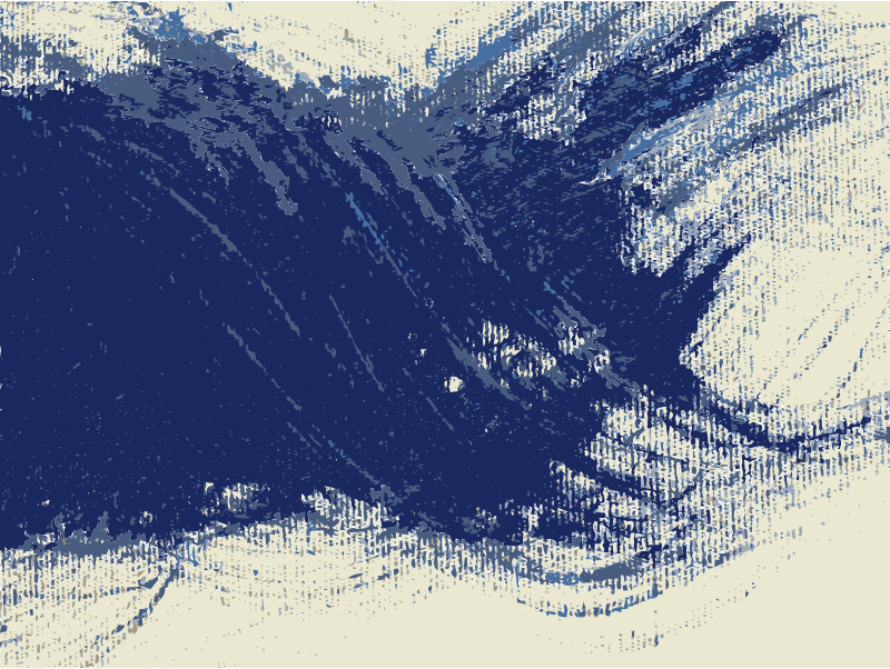 Blue  by jykhui -  An abstract blue drawing
