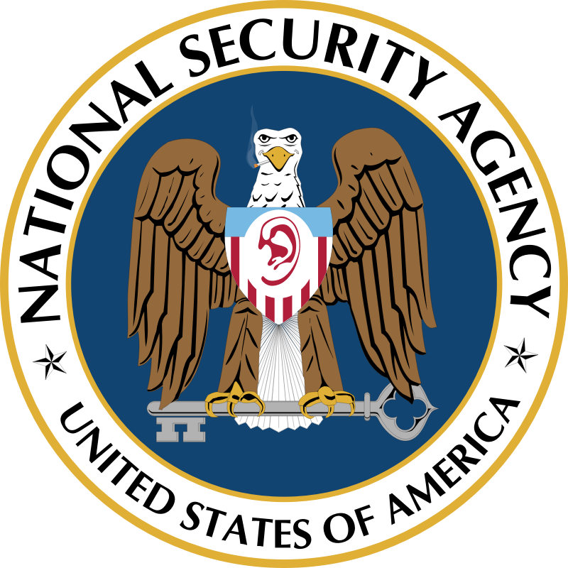 National Security Agency logo by raphaelb - National Security Agency logo
