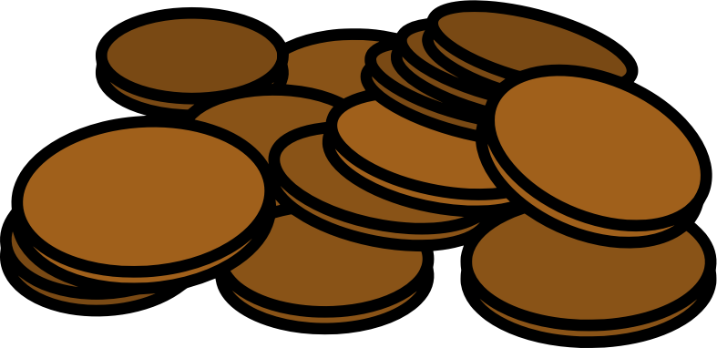 Pennies by Alastair - A small pile of pennies or one cent coins.