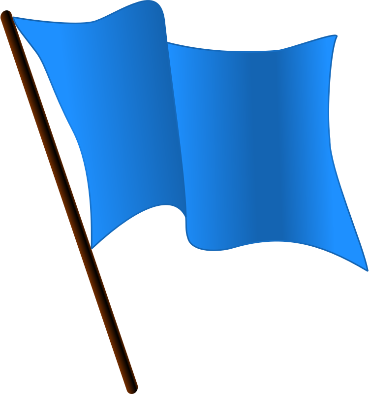 DodgerBlue Flag Waving by Magirly - Public Domain Source http://en.m.wikipedia.org/wiki/File:DodgerBlue_flag_waving.svg
