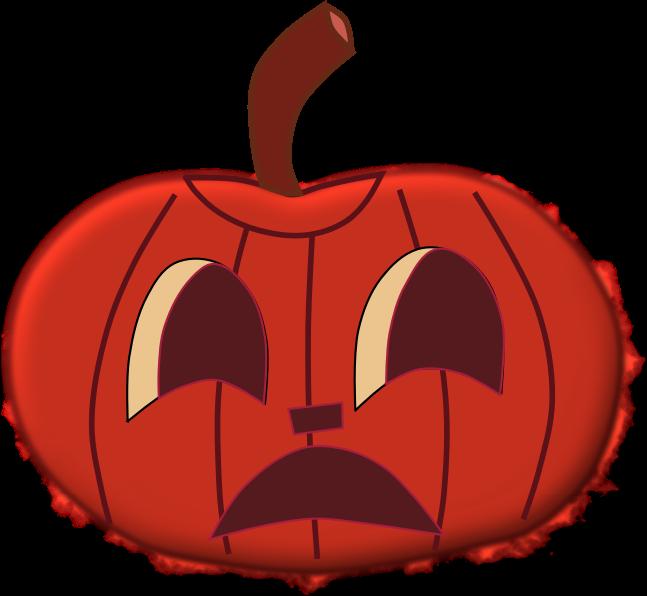 Clipart Halloween Faces For Pumpkins Orange