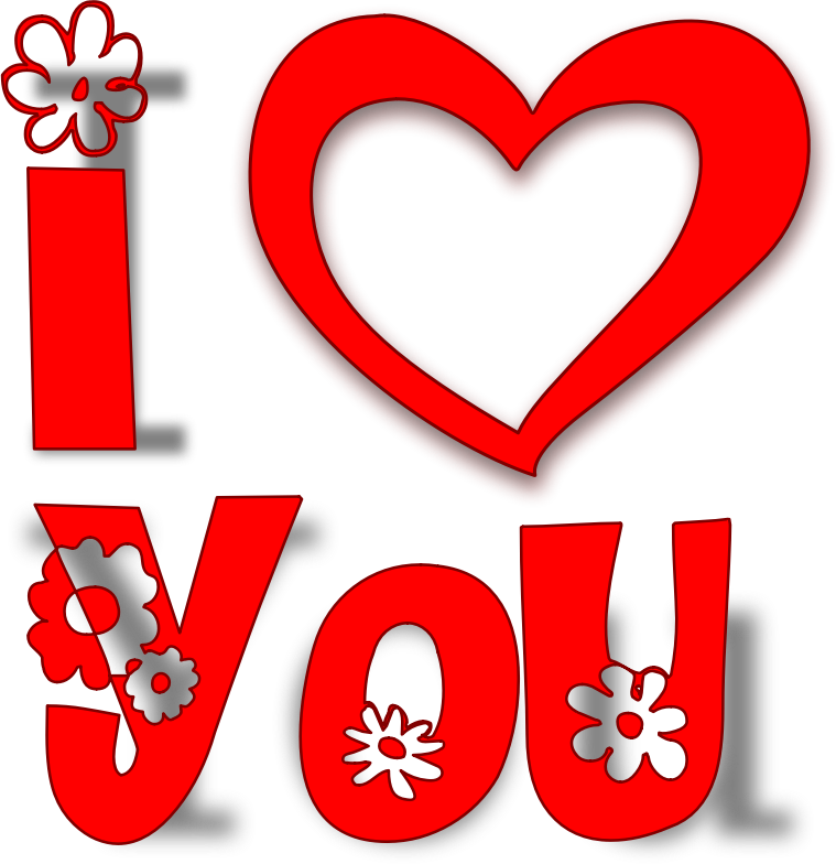 Download Clipart - I Love You