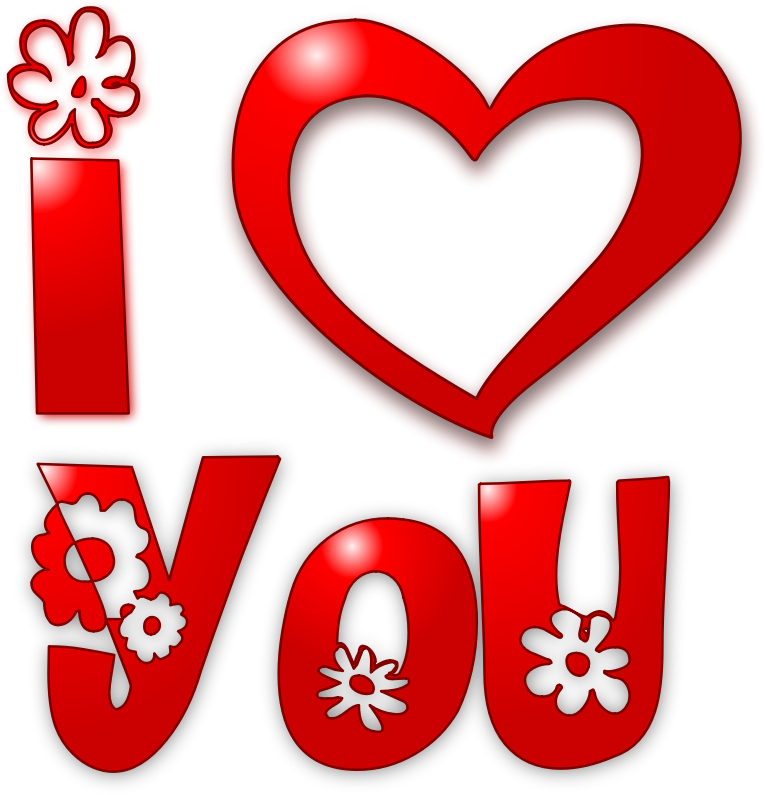 Go Back > Gallery For > I Love You More Clip Art