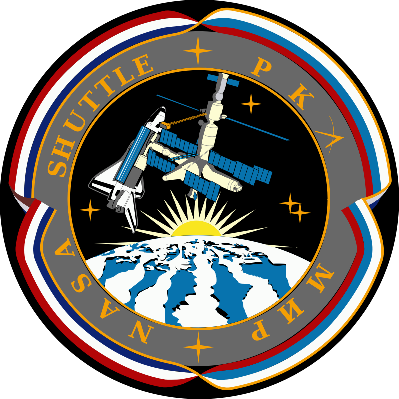 Shuttle-Mir Patch by NASA