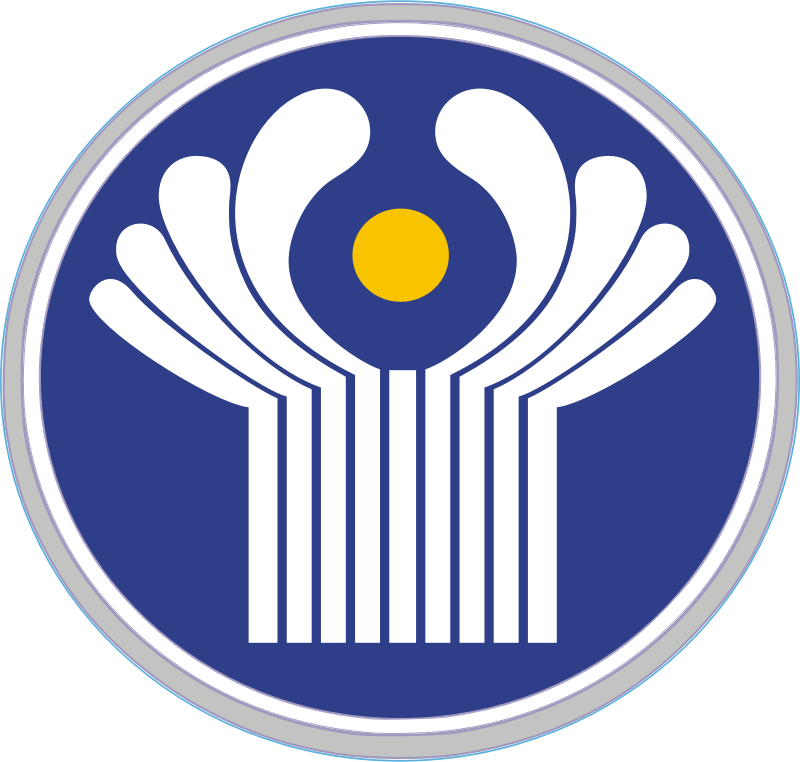 Emblem Of CIS by NASA - Public Domain Source http://commons.wikimedia.org/wiki/File:Emblem_of_CIS.svg?uselang=tl