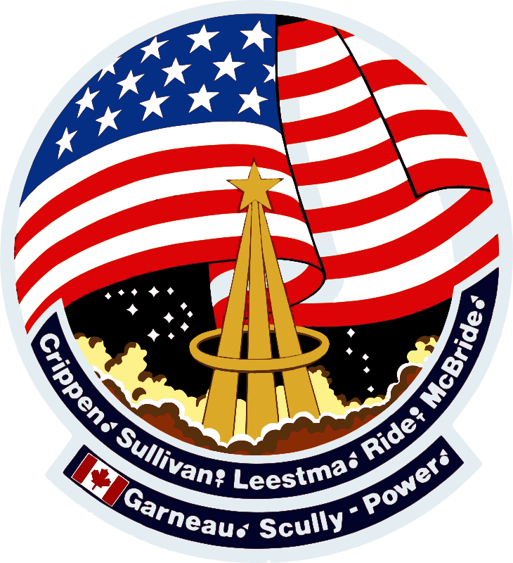 STS-41G Patch by NASA - Public Domain Source http://commons.wikimedia.org/wiki/File:STS-41G_Patch.svg