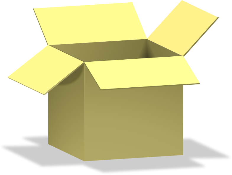box, opened, dežė by Keistutis - box, opened, dežė