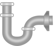 Sink Pipe by xyshio - sink drain pipe - sink vapor trap