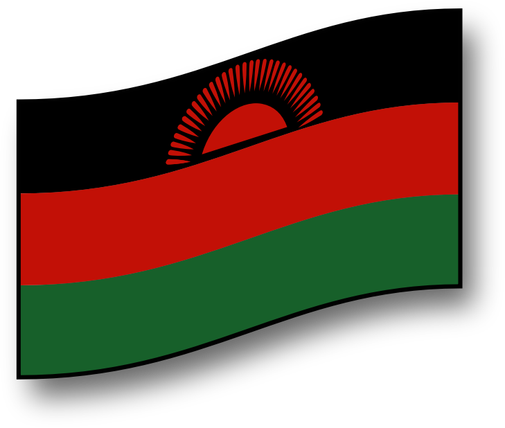 clickable Malawi flag by GMcGlinn - A interactive flag of Malawi - hover and click effects.
