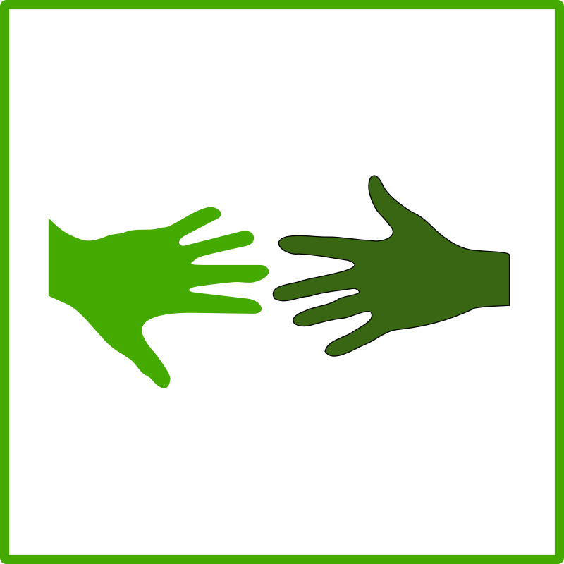 eco green solidarity icon by dominiquechappard - eco pictogram/icon