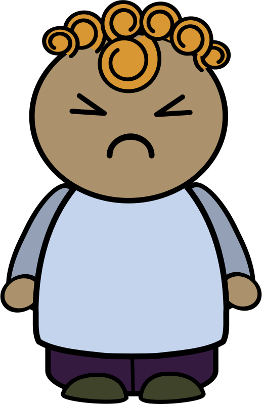 Person 1 by anarres - angry character