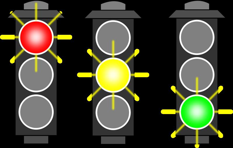 Clipart - Traffic Light (RYG)