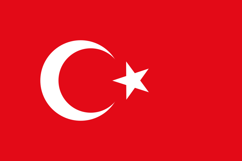 Flag of Turkey by eer