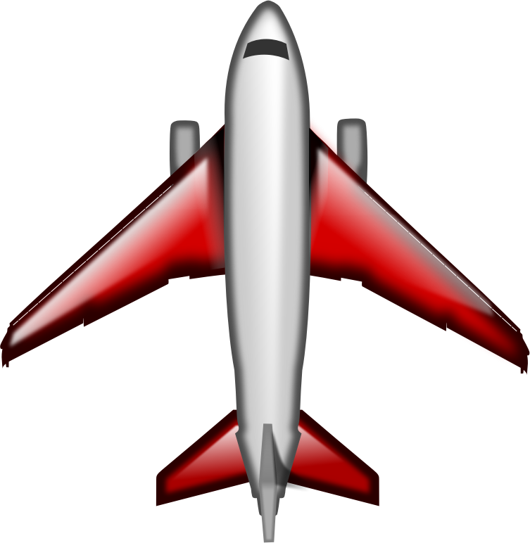Plane Red by SketchArtist