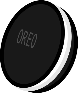 OreoCOOKIE by blueICEphoenix - My first clip art : an oreo XD