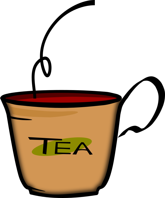 Cup of Tea by PrinterKiller - This is my first work with vectors, and my first exercise was doing a cup of tea (with Earl Grey in it...)